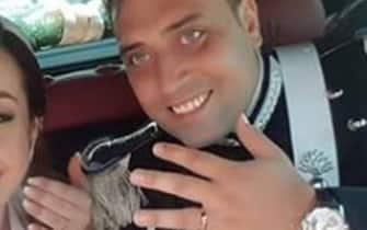 Carabiniere ucciso con numerose coltellate da due uomini,di probabile origine nordafricana. Due ladri che stavano per essere arrestati,  E' accaduto nella notte tra giovedì e venerdi' nella zona di Piazza Cavour, La vittima si chiamava Mario Cerciello Rega, 35 anni, vicebrigadiere (Roma - 2019-07-26, Roma's) p.s. la foto e' utilizzabile nel rispetto del contesto in cui e' stata scattata, e senza intento diffamatorio del decoro delle persone rappresentate
