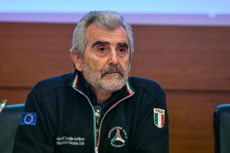 epa08195420 The director of Civil Protection and Coordinator of the Technical and Scientific Committee on the Coronavirus, Agostino Miozzo, attends a press conference in Rome, Italy, 05 February 2020.  EPA/ALESSANDRO DI MEO