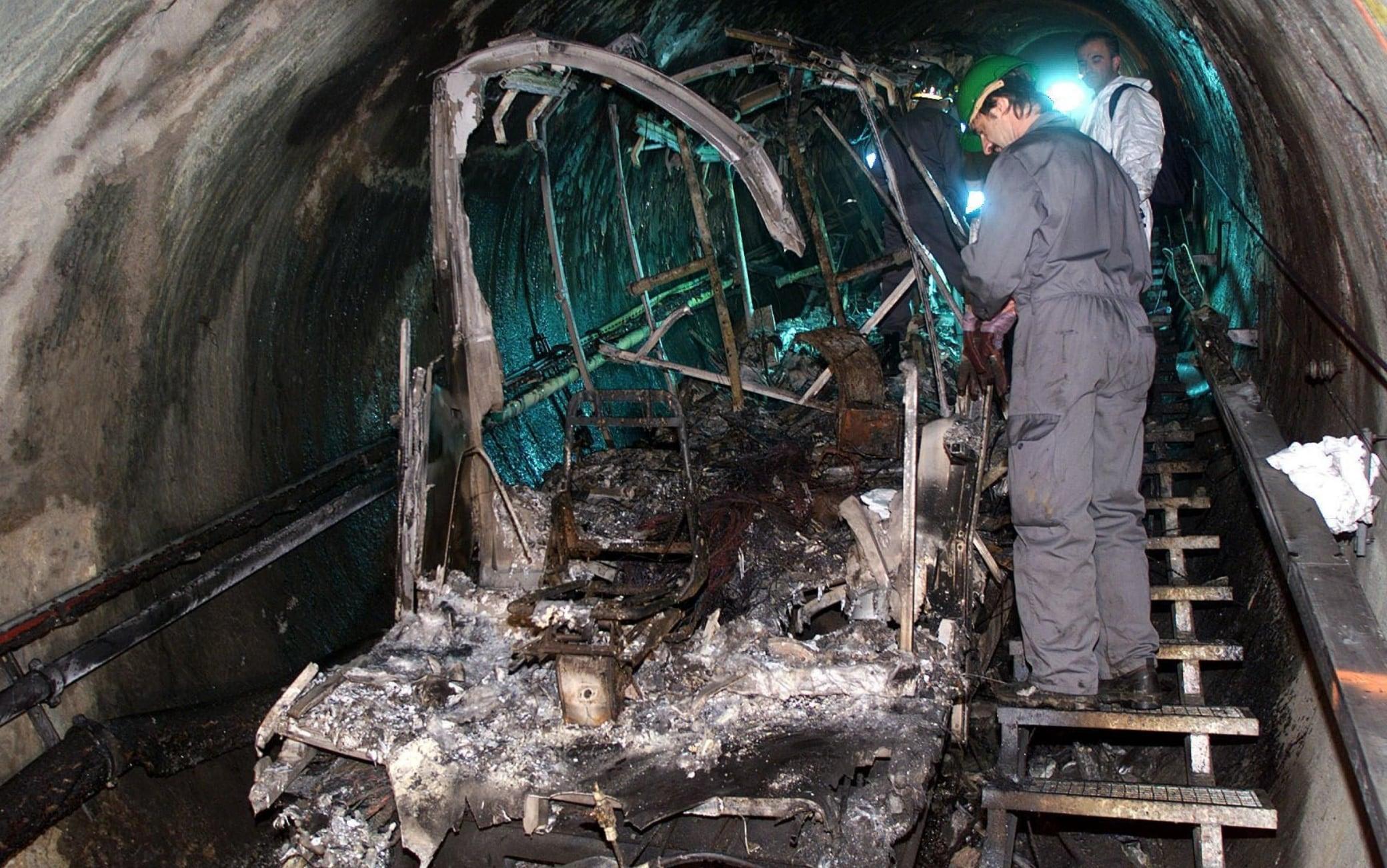 L'incidente al trenino funicolare di Kaprun del 2000