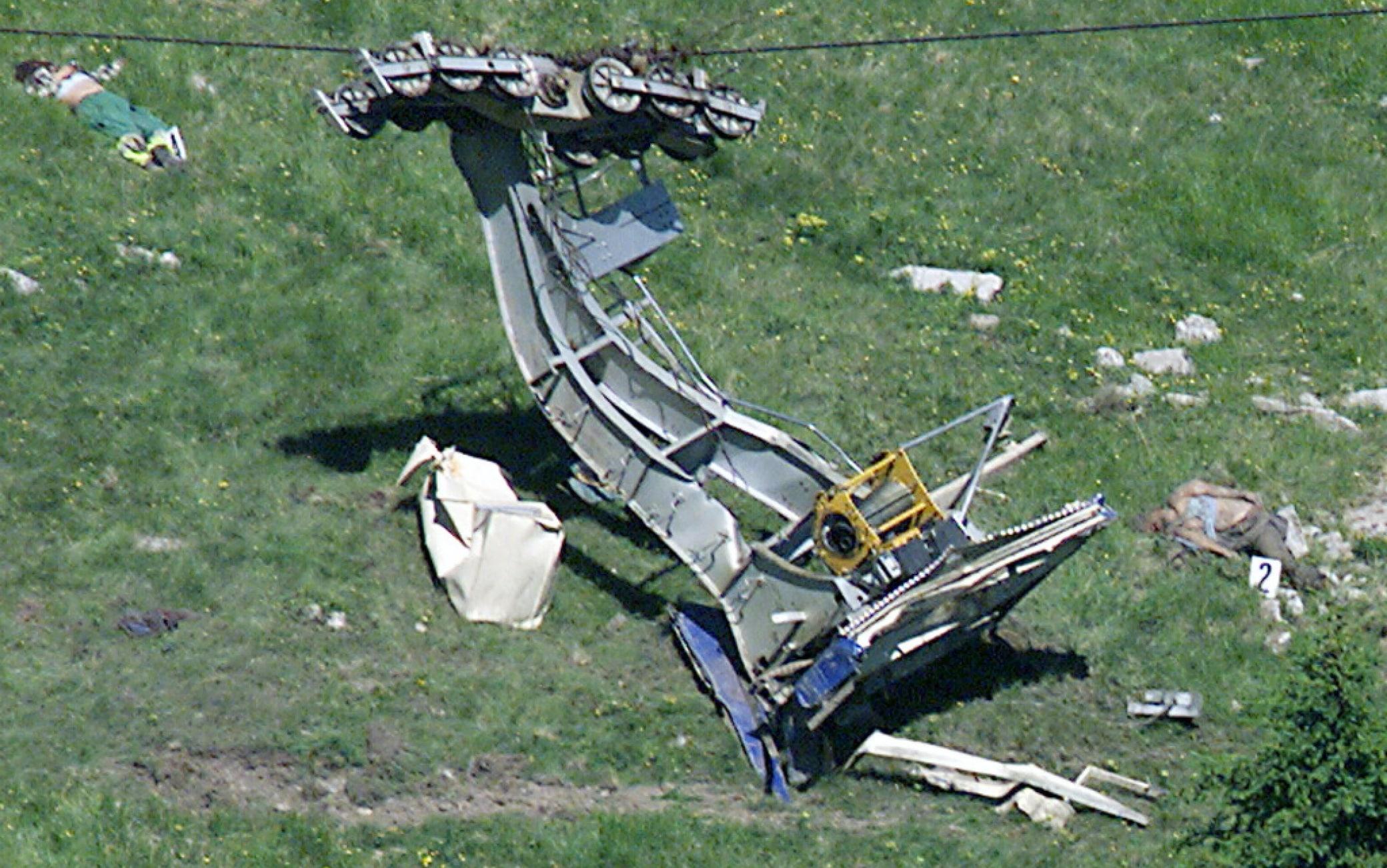 L'incidente alla funivia sul ghiacciaio tirolese della Oetztal
