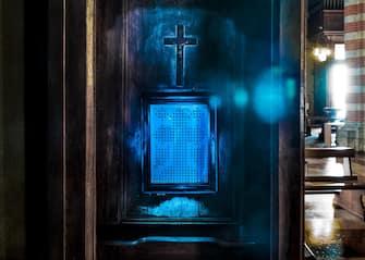 Church confessional, Lima