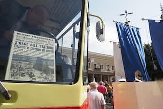 Commemorazione 39mo anniversario strage della stazione di Bologna del 2 Agosto 1980 - Bologna 2 agosto 2019 - ANSA / GIORGIO BENVENUTI