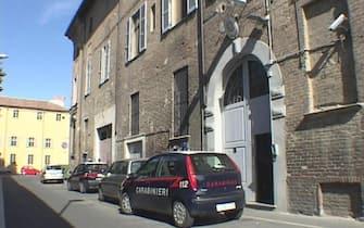La caserma dei Carabinieri di via Caccialupo sequestrata durante loperazione di questa mattina a Piacenza, 22 luglio 2020. ANSA/Pierpaolo Ferreri