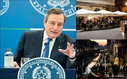 Covid, Draghi annuncia le riaperture: cosa cambia dal 26 aprile
