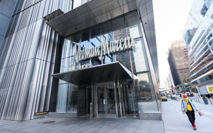Neiman Marcus in bancarotta, amministrazione controllata