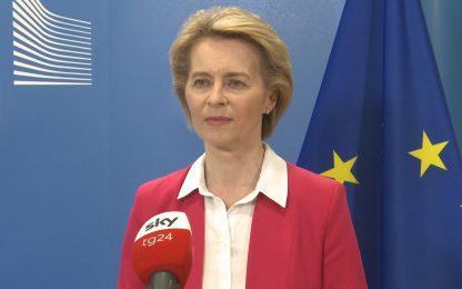 Recovery Fund, intervista di Sky TG24 a Ursula von der Leyen. VIDEO