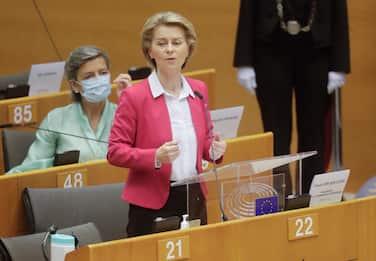 Recovery Fund, von der Leyen illustra il piano europeo da 750 miliardi