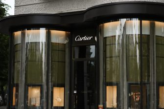 BERLIN, GERMANY - JUNE 10: General view of the Cartier Store at Kurfürstendamm on June 10, 2020 in Berlin, Germany. (Photo by Jeremy Moeller/Getty Images)