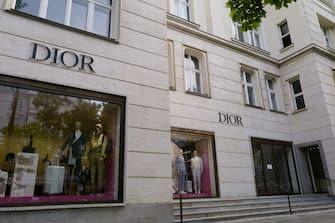 BERLIN, GERMANY - JUNE 10: General view of the Dior store at Kurfürstendamm in Berlin on June 10, 2020 in Berlin, Germany. (Photo by Jeremy Moeller/Getty Images)