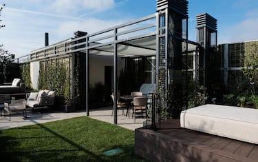 Reale Immobili presenta la 'Collezione Prestige', selezione di proposte per un abitare unico nelle pi˘ belle citt‡ italiane, Milano, 10 ottobre 2019. Con questo progetto, la societ‡ immobiliare di Reale Group si rafforza nel settore delle abitazioni di lusso.ANSA/ LUCA MATARAZZO