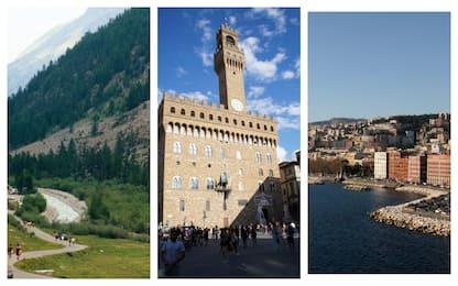 Coronavirus, bene turismo montagna e borghi. Crollo città arte e mare