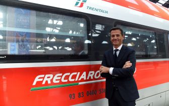 MILAN, ITALY - SEPTEMBER 20:  CEO of Trenitalia Orazio Iacono attends the Italy Paralympic Team Presentation at the Central Station on September 20, 2017 in Milan, Italy.  (Photo by Pier Marco Tacca/Getty Images)