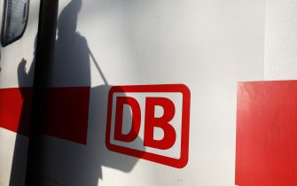 BERLIN, GERMANY - DECEMBER 20: Passengers shadows on the DB or Deutsche Bahn ice train at Hauptbahnhof main railway station over the planned ticket price reduction by Deutsche Bahn on December 20, 2019 in Berlin, Germany. Deutsche Bahn will reduce its passenger fare prices on average by 10% next year following a change in the sales tax category by the German government of the ticket sales from 19% to 7%. The government sees increasing travel by rail as an important part of its broader effort to bring down domestic greenhouse gas emissions.  (Photo by Michele Tantussi/Getty Images)