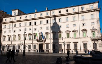 ROME, ITALY - FEBRUARY 03:  A view of the main facade of the Palazzo Chigi on February 3, 2011 in Rome, Italy. Palazzo Chigi has been the seat of the Italian government since 1961. The architectural history of the building began in 1578 and spans three centuries, during which time there have been several ongoing projects of architectural adaptation.  (Photo by Giorgio Cosulich/Getty Images)