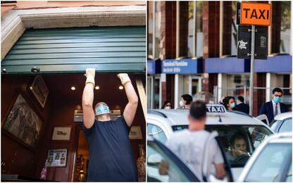 Dai taxi ai ristoranti: i bonus e gli aiuti del dl agosto. FOTO