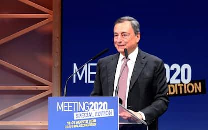 Meeting di Rimini, Mario Draghi: pandemia minaccia futuro dei giovani