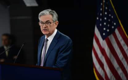"""Fed, Powell: """"Riapertura veloce rischio per economia"""""""