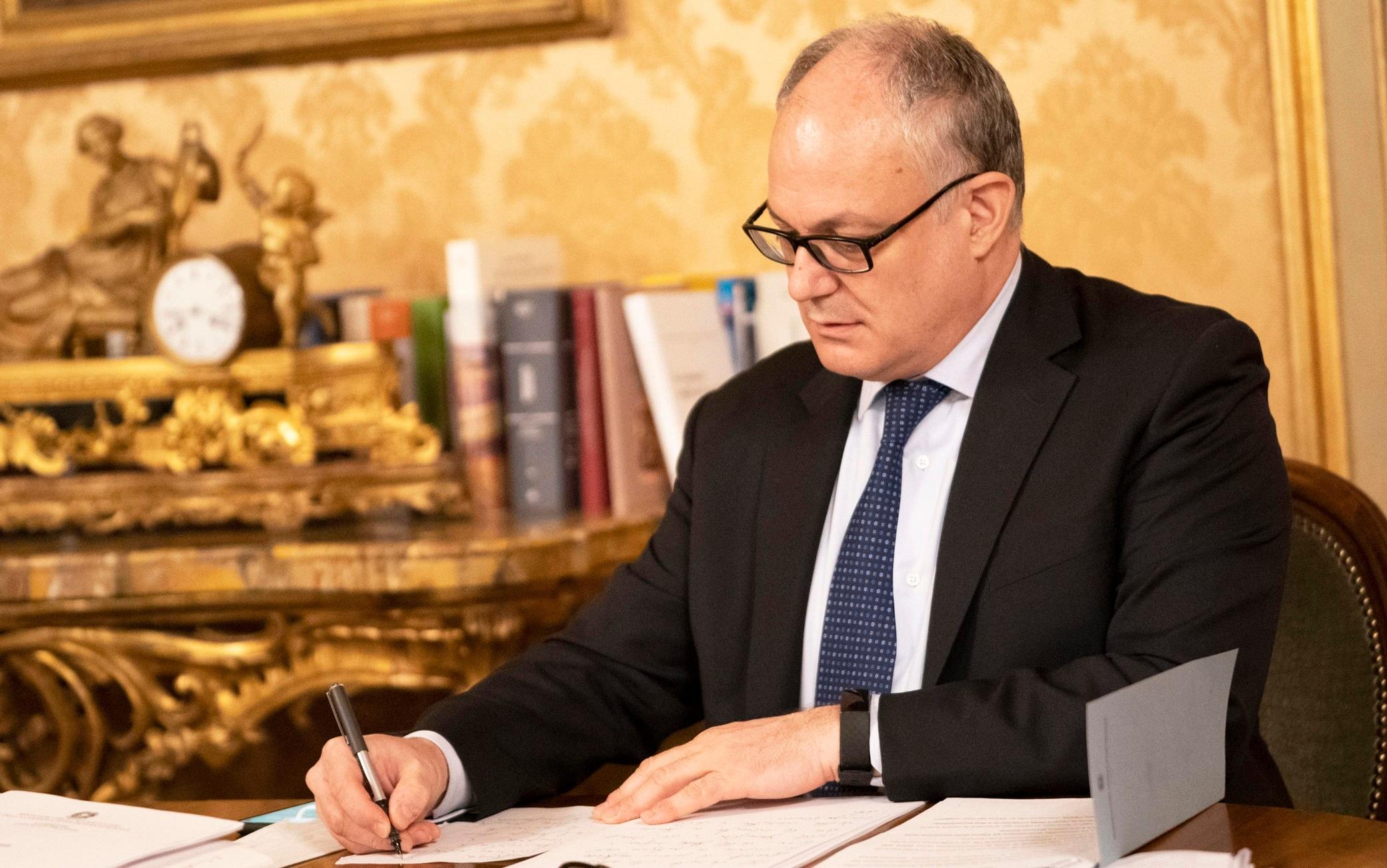 Legge di Bilancio, Gualtieri: manovra da 39 miliardi
