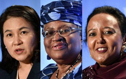 Wto, per la carica di direttore generale 3 candidati su 5 sono donne