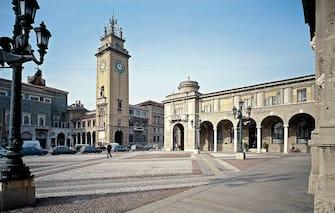 Piazza Vittorio Veneto, by Piacentini Marcello, 1907, 20th Century. (Photo by Sergio Anelli / Electa / Mondadori Portfolio via Getty Images)