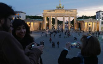 <<enter caption here>> on May 19, 2015 in Berlin, Germany.