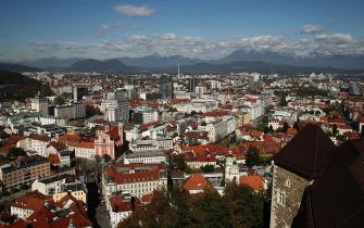 LJUBLJANA, SLOVENIA - OCTOBER 08:  Views of the sites of Ljubljana on October 9, 2017 in LJUBLJANA, Slovenia.  (Photo by Brendon Thorne/Getty Images)