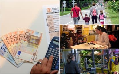 Coronavirus, effetti dell'emergenza su redditi: -1.250 euro a famiglia