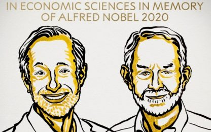 Nobel per l'Economia 2020, vincono Milgrom e Wilson