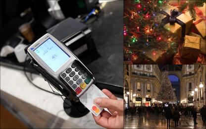 Cashback, si parte a dicembre: la prova con i regali di Natale