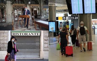 """Covid, Confcommercio: """"Futuro nero per turismo e ristorazione"""""""