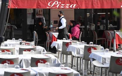 Covid, Coldiretti: riaperti 72mila bar e ristoranti nelle zone gialle