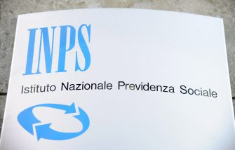 Milan - Insignia inps - pension and social security