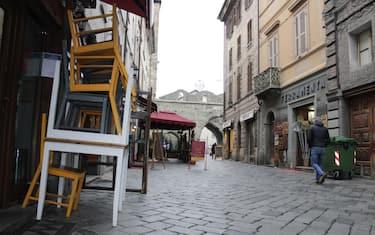 Aosta in zona rossa