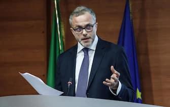 Il direttore dell'Agenzia delle Entrate Ernesto Maria Ruffini durante la presentazione dei risultati 2017, Roma, 1 febbraio 2018. ANSA/GIUSEPPE LAMI