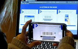 Al via l'iscrizione sul sito per partecipare alla Lotteria degli scontrini. Roma, 1 dicembre 2020. ANSA/CLAUDIO PERI