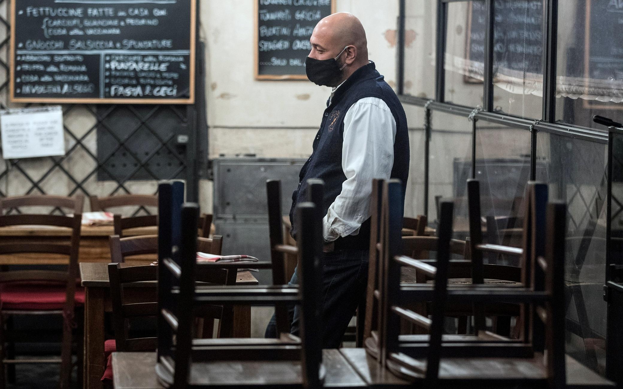 Decreto Natale, ristori immediati per bar e ristoranti