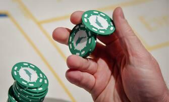ALTAI TERRITORY, RUSSIA - JUNE 3, 2019: Playing the Roulette game at the Altay Palace casino in the Siberian Coin gambling zone. Yuri Smityuk/TASS/Sipa USA ( - 2019-05-12, TASS / IPA) p.s. la foto e' utilizzabile nel rispetto del contesto in cui e' stata scattata, e senza intento diffamatorio del decoro delle persone rappresentate
