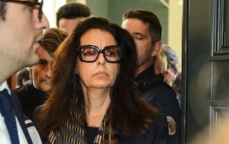 Franoise Bettencourt-Meyers  daughter of Liliane Bettencourt leaves the Bordeaux courthouse after the deliberations of the tribunal in the Bettencourt trial./AMEZUGO_AMEZ029/Credit:UGO AMEZ/SIPA/1505281945 (BORDEAUX - 2015-05-28, UGO AMEZ/SIPA / IPA) p.s. la foto e' utilizzabile nel rispetto del contesto in cui e' stata scattata, e senza intento diffamatorio del decoro delle persone rappresentate