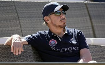 epa07251879 (FILE) - Larry Ellison, co-founder and Executive Chairman of Oracle Corporation and owner of the Indian Wells Tennis Garden watches a match at the BNP Paribas Open at the Indian Wells Tennis Garden in Indian Wells, California, USA, 16 March 2018 (reissued 28 December 2018). According to reports, Tesla on 28 December 2018 appointed Larry Ellison and Kathleen Wilson-Thompson to its board.  EPA/JOHN G. MABANGLO *** Local Caption *** 54202978