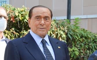 "Former Italian Prime Minister Silvio Berlusconi leaves San Raffaele hospital in Milan, 14 September 2020. Silvio Berlusconi said suffering from COVID-19 was ""the most dangerous ordeal of my life"" as he was discharged from Milan's San Raffaele hospital on Monday. ANSA/Andrea Fasani"