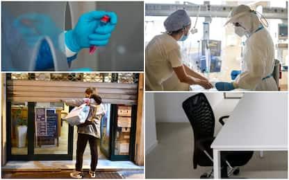 Covid, 131mila contagi sul lavoro: ecco i settori più a rischio
