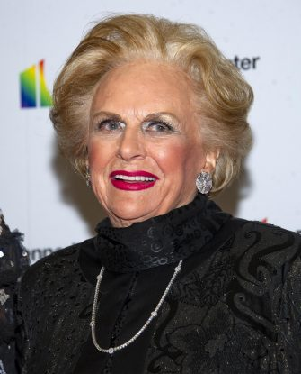 epa08053808 Jacqueline Mars arrives for the Artist's Dinner, honoring the recipients of the 42nd Annual Kennedy Center Honors, at the United States Department of State in Washington, DC, USA, 07 December 2019. The 2019 honorees were Earth, Wind & Fire, Sally Field, Linda Ronstadt, Sesame Street and Michael Tilson Thomas.  EPA/RON SACHS / POOL
