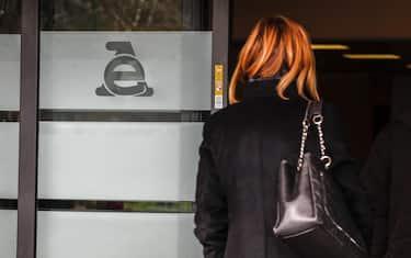 Il logo dell'Agenzia delle Entrate, Roma, 1 febbraio 2018. ANSA/GIUSEPPE LAMI