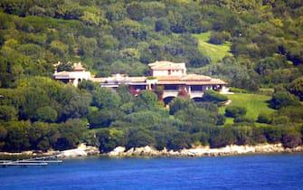 """Porto Rotondo. La villa di Silvio Berlusconi """"La Certosa"""". Foto Antonello Zappadu"""
