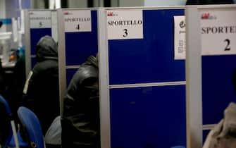 Foto Cecilia Fabiano  - LaPresse 06-03-2019 Roma ( Italia ) Cronaca: reddito di cittadinanza Nella foto : caf Photo Cecilia Fabiano - LaPresse march 06, 2019 Rome ( Italy ) News: social salary in the pic: caf