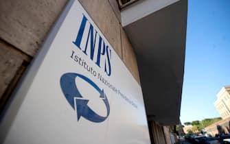 Ingresso di un centro INPS - Istituto Nazionale della Previdenza Sociale