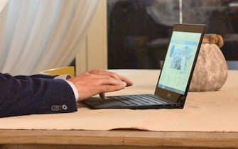 Un computer per lo smart working