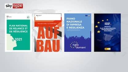 Recovery plan, il confronto tra Italia, Spagna, Germania e Francia