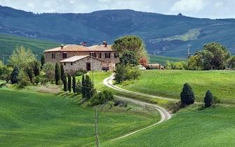 Un agriturismo in Italia