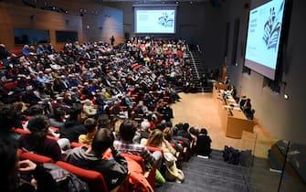 Cerimonia di laurea all'Università di Torino, Piemonte, 2019